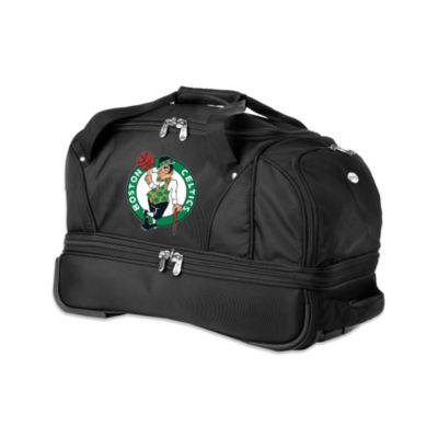 NBA Boston Celtics 22-Inch Drop Bottom Wheeled Duffel Bag