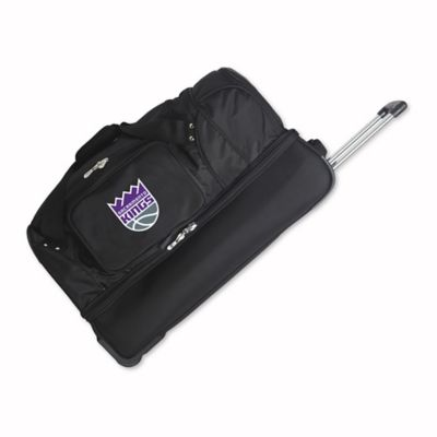 NBA Sacramento Kings 27-Inch Drop Bottom Wheeled Duffel Bag