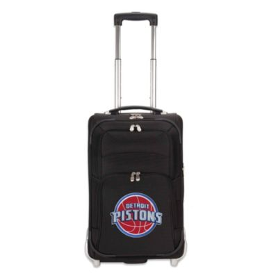 NBA Detroit Pistons 21-Inch Wheeled Carry On