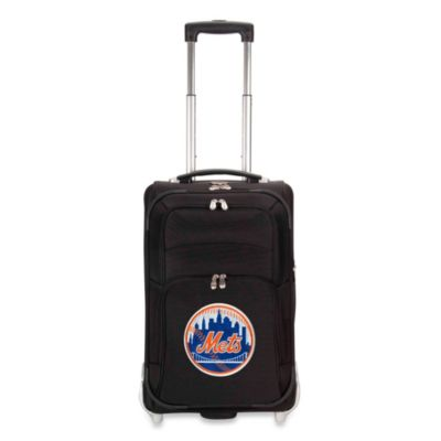 MLB New York Mets 21-Inch Wheeled Carry-On