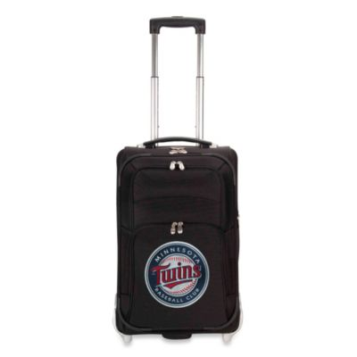 Minnesota Twins 21-Inch Upright Expandable Wheeled Carry-On