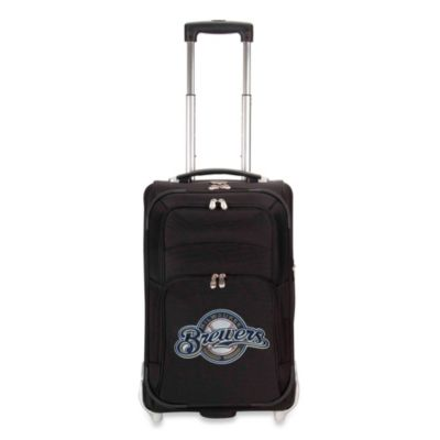 MLB Milwaukee Brewers 21-Inch Carry On