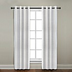 CityLinen Linen Grommet Window Curtain Panels and Valances