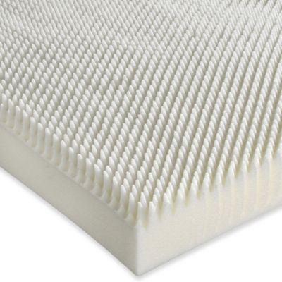 Isotonic® Sublime Comfort 3-Inch Queen Memory Foam Mattress Topper in White