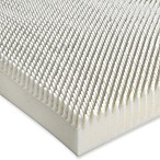Isotonic® Sublime Comfort 3-Inch Memory Foam Mattress Topper in White