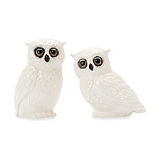 Edie Rose by Rachel Bilson Hydrangea Owl Salt and Pepper Shakers