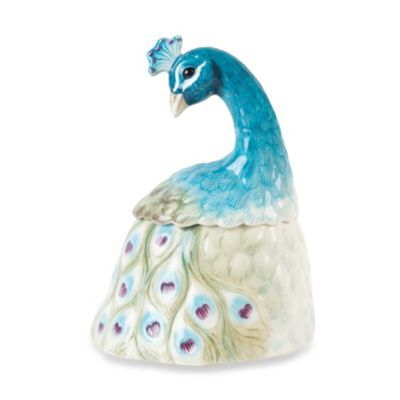 Edie Rose by Rachel Bilson Peacock Lidded Box