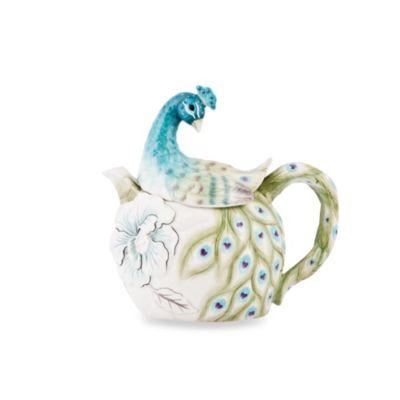 Edie Rose by Rachel Bilson Peacock Teapot