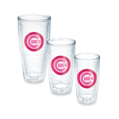 Tervis® MLB Chicago Cubs Emblem 16-Ounce Tumbler in Neon Pink