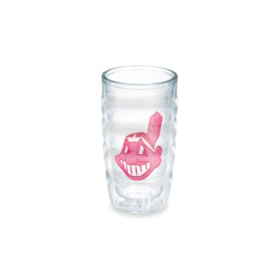 Tervis® MLB Cleveland Indians Emblem 10 oz. Wavy Tumbler in Neon Pink