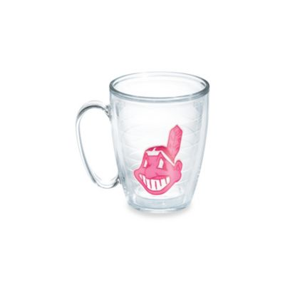 Tumbler Neon Pink Cleveland Indians 15-Ounce Mug
