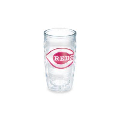 Tervis® MLB Cincinnati Reds Emblem 10 oz. Wavy Tumbler in Neon Pink