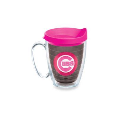 Tervis® Tumbler Neon Pink MLB Chicago Cubs Emblem 15-Ounce Mug
