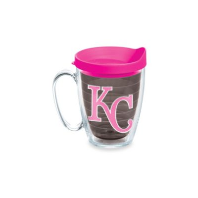 Tervis® Tumbler Neon Pink MLB Kansas City Royals 15-Ounce Mug with Lid