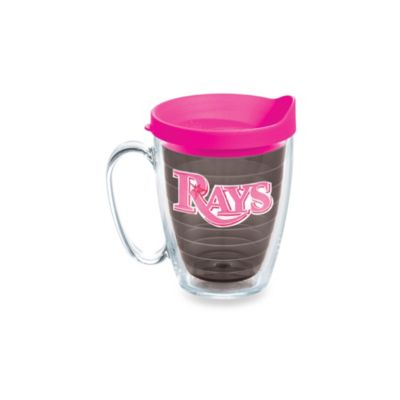 Tervis® Tumbler Neon Pink MLB Tampa Bay Devil Rays 15-Ounce Mug with Lid