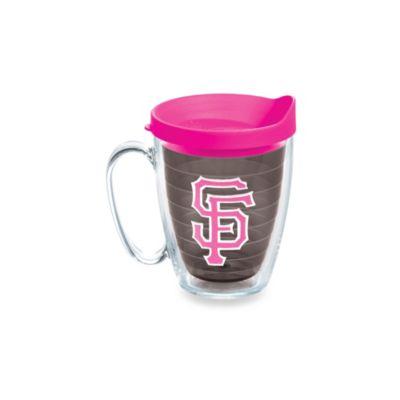 Tervis® Tumbler Neon Pink MLB San Francisco Giants 15-Ounce Mug with Lid
