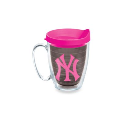 Tervis® Tumbler Neon Pink MLB New York Yankees 15-Ounce Mug with Lid