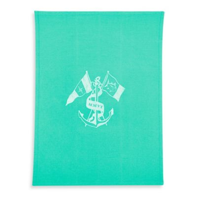 Southern Tide® Ocean Crest Throw Blanket in Offshore Green