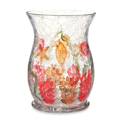 Yankee Candle® Coral Beach Crackle Collection Pillar Candle Holder