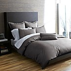 Portico Windswept Organic Duvet Cover in Kitten Grey