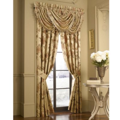 J. Queen New York™ Heritage Coral Waterfall Window Valance