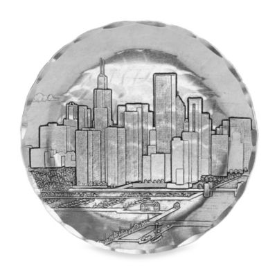 Chicago Round Mini-Plate/Coaster