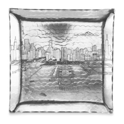 Chicago Large Square Hudson Tray