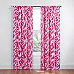 Insola Animal Stripe Blackout Window Curtain Panel