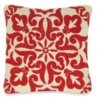 Red Tropical Bedding