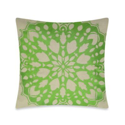Green Decorative Toss Pillows