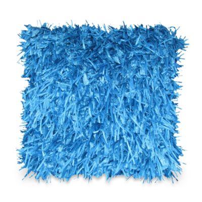 Turquoise Square Throw