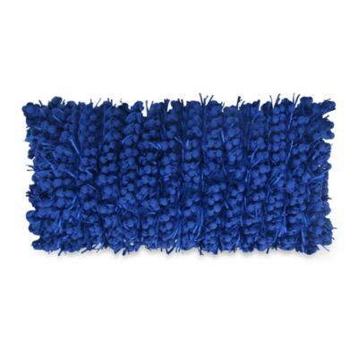 Funberry Oblong Throw Pillow in Blue