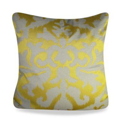 Yellow Ivory Throw Pillow