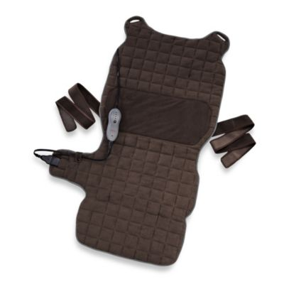 Sunbeam Renue Back & Body Warming Pad in Chocolate