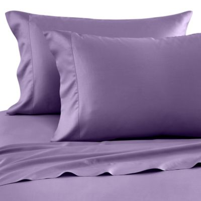 Nine Space Bamboo Viscose King Sheet Set in Lavender
