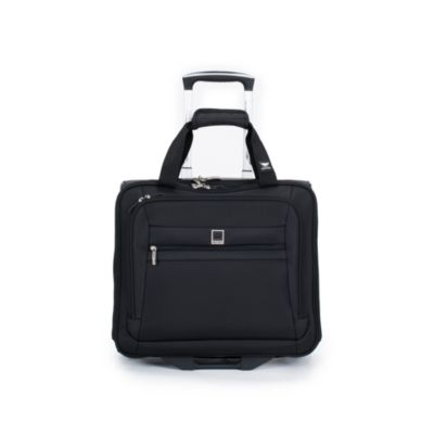 DELSEY Helium Hyperlite Carry-On Wheeled Tote Bag in Black
