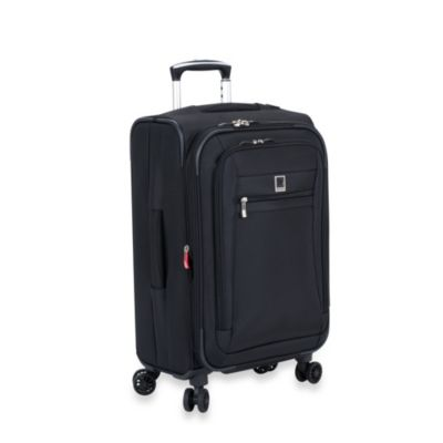 DELSEY 21-Inch Carry-On Spinner in Black