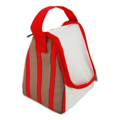 BlueAvocado® Travel Shave Caddy by Ross Bennett in Red Stripe