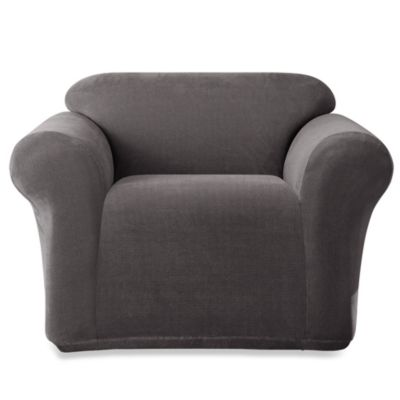 Sure Fit® Stretch Metro 1-Piece Chair Slipcover