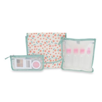 BlueAvocado® Designed by Lauren Conrad (eco) 3-Piece Beauty Kit in Ivory Roses