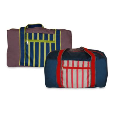 BlueAvocado® Travel Duffle Bag by Ross Bennett in Navy