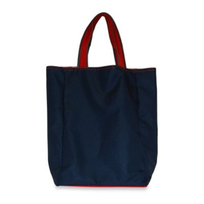 Blue Avocado Foldable Wallet Tote by Ross Bennett