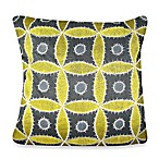 Ethnic Flora Square Toss Pillow