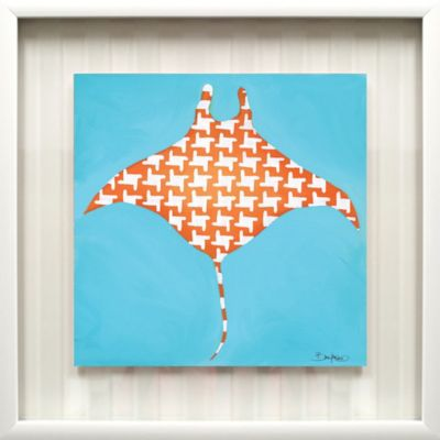"""Stingray"" Framed Art"