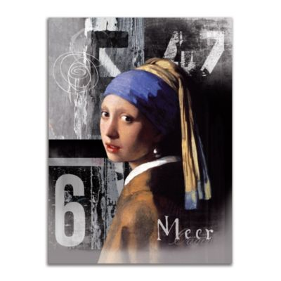 Girl with Pearl Earring Wall Art