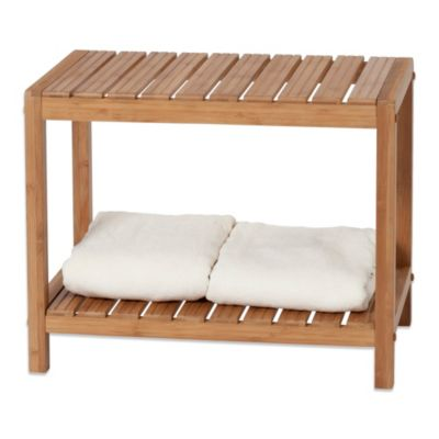 Creative Bath EcoStyles Bamboo Spa Bench