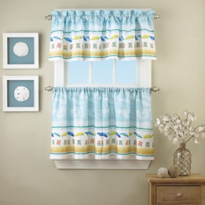 St. Tropez 24-Inch Window Curtain Tier Pair