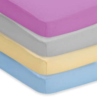 BreathableBaby® Breathable Printed Wick-Dry Plush Crib Sheet