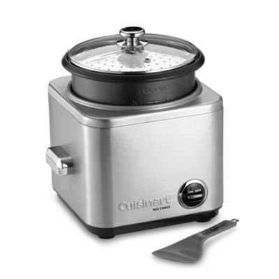 Steel Cuisinart Rice Cooker