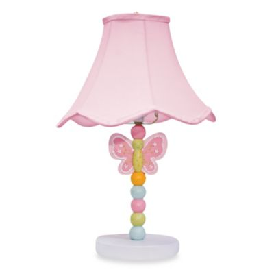 Nurture Imagination Wings Nursery Lamp and Shade